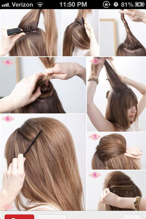 bump it hairstyles pictures hair bump hairstyle bump stuff i like pinterest