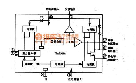 integrated circuit box definition tda610lq integrated block box circuit automotive circuit circuit diagram seekic
