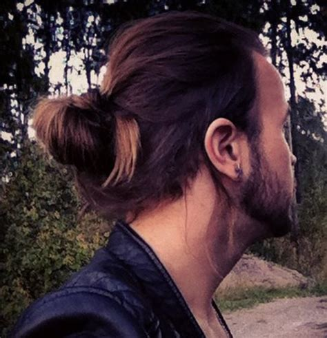 types of pony tail with a roll 7 types of man bun styles for men explained man bun