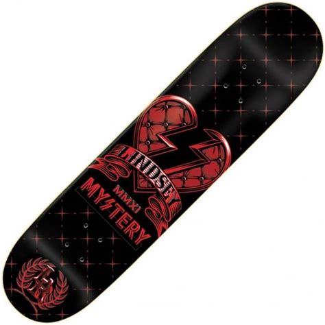 Skateboard Deck Mystery mystery skateboards mystery monogram skateboard deck 7 875 quot skateboard decks from