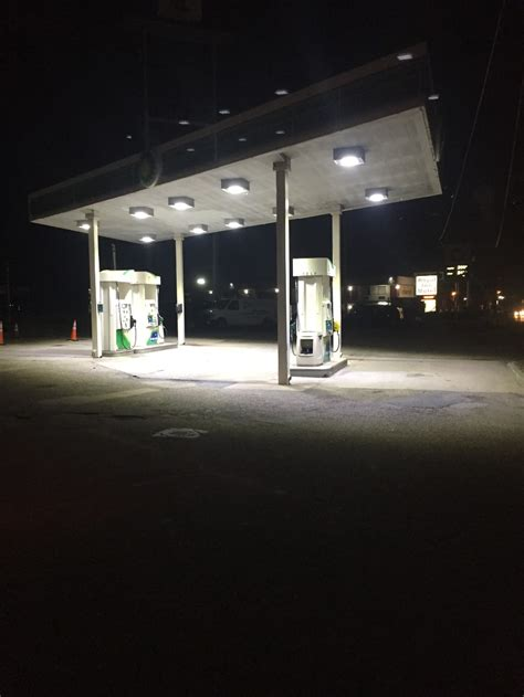 gas station canopy lighting levels led gas station light 100watt retrofit canopy fixture hid