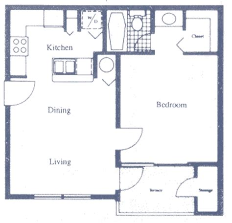 fau floor plan boca raton apartment fau rental br301 1 bedroom floor plans