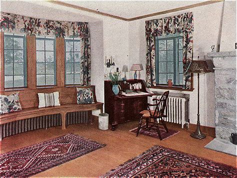 1930 living room ad for oak floors a bit wordier