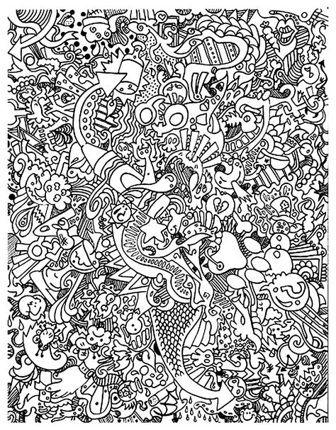 doodle color doodle posters to color www pixshark images