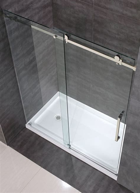 Sliding Frameless Glass Shower Doors 7 Best Images About Sdr976 Moselle Completely Frameless Sliding Shower Door On Pinterest