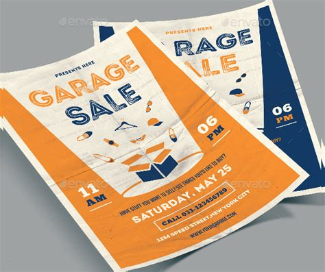 sle event flyer template 27 garage sale flyer templates free premium