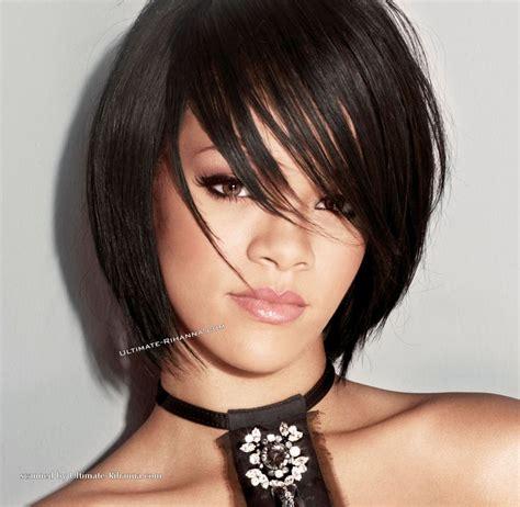 rihanna short hair ebony cuts pinterest shorts rihanna short black hair stylish hair styles pinterest