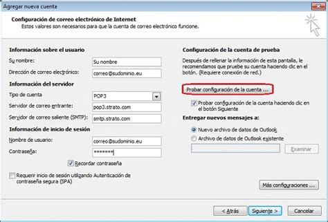 tutorial configuracion outlook 2010 imap enviar y recibir e mails con outlook