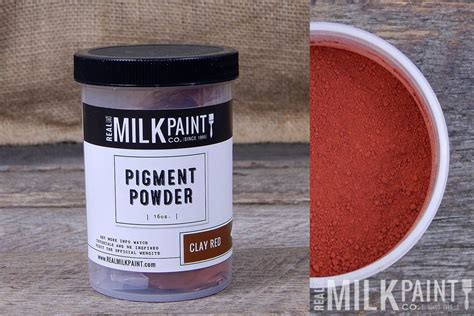 milk paint pigment powders for paint concrete