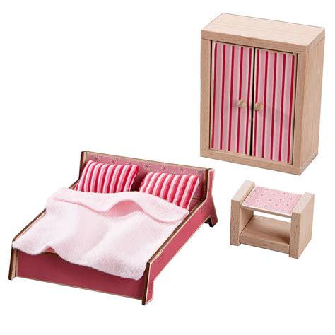 Haba Puppenhausm 246 Bel Aus Holz Schlafzimmer 301988