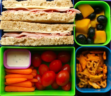 top 3 healthy lunches youth are awesome