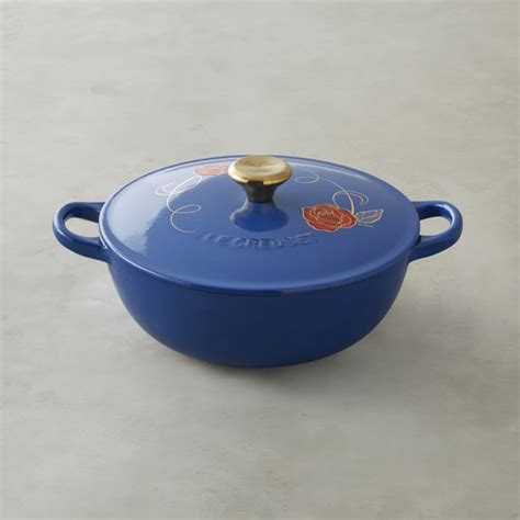 disney le creuset le creuset beauty and the beast soup pot williams sonoma