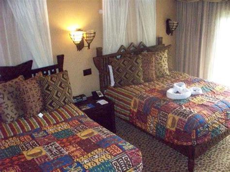 animal kingdom villas 2 bedroom 2 double beds in second bedroom picture of disney s