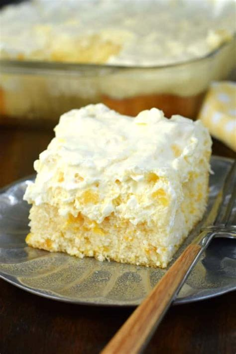 Pineapple Orange Cake Shugary Sweets Light Pudding Recipe