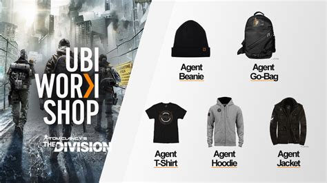 Jaket Hoodie Tom Clancys The Division 2 Roffico Cloth ubi workshop t shirt and hoodie join the division s gear collection the division zone