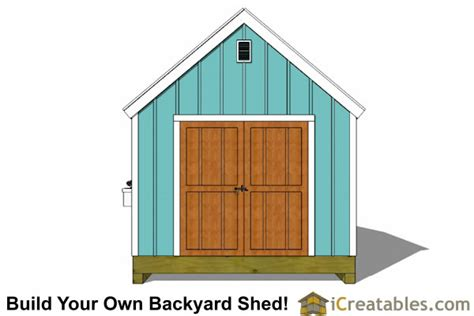Cape Cod Shed Plans by 10x12 Cape Cod Shed Plans
