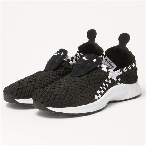 woven sneakers nike uk store air woven black white sneaker 312422 002