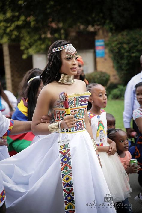 zulu traditional wear inspired white wedding gown afro me white wedding gowns