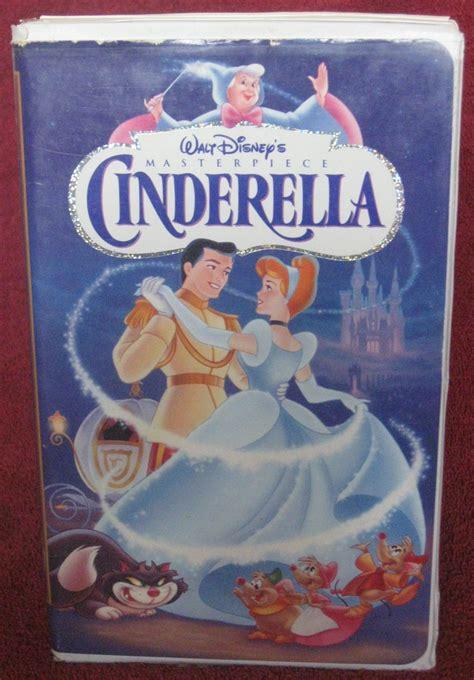 cinderella walt disney disneys 0717284735 walt disney cinderella vhs 1995