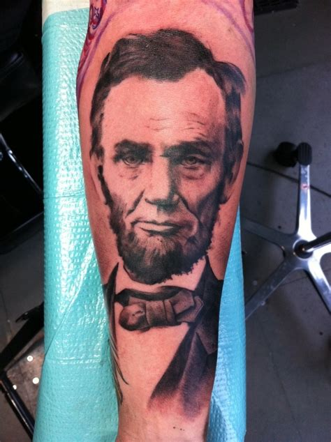 abraham lincoln tattoo pin by kala ellis on designs