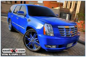 Cadillac Escalade Blue Cadillac Escalade Cadillac And Blue On
