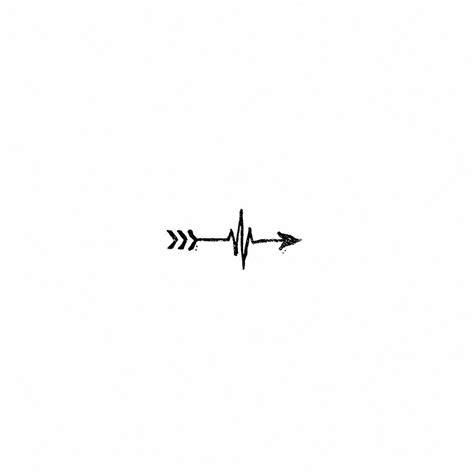 tattoo heartbeat line heartbeat line vector tattoo www pixshark com images