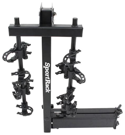 swing rack sportrack ridge swing 4 bike rack 2 quot hitches swinging