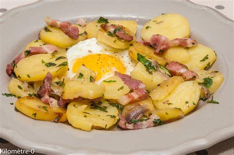 cuisiner des topinambours a la poele po 234 l 233 e de pommes de terre aux oeufs kilometre 0 fr