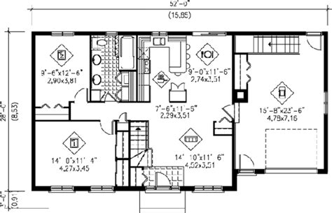 1000 sq ft house plans 1 bedroom traditional style house plan 2 beds 1 baths 1000 sq ft plan 25 4105