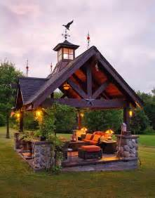 Outdoor Living Gazebo Best Outdoor Pit Ideas To The Ultimate Backyard