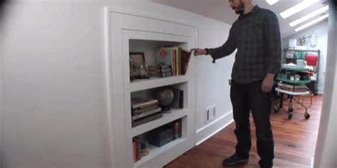 bookcase    secret door