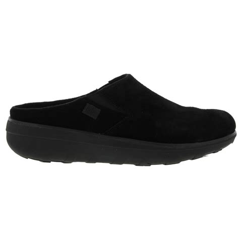 suede clogs for fitflop loaff suede clog womens black suede leather slip