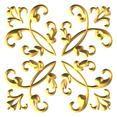 decorative ornaments free illustration gold metallic decorative free image