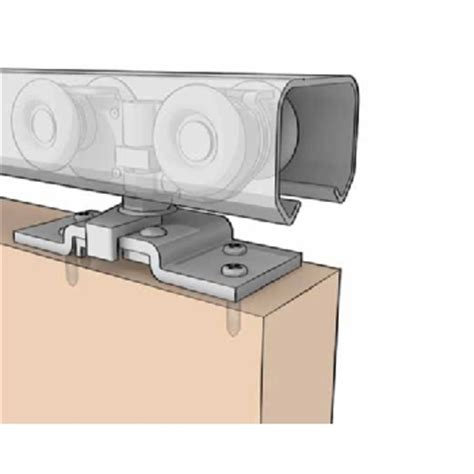 Bifold Closet Door Track Hardware Bi Fold Door Aluminum Track With Hardware 4 Door 50 Lb Cap Model Bif 50a 4d