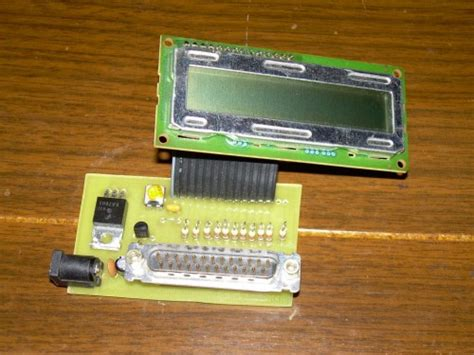 Diy Circuit Board 2 Usb Port Lcd Display 6 Section For Power Bank easypport bi freebasic parallel port to lcd display