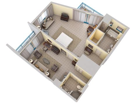 corner suite floor plan 3d floor plans barbados resort