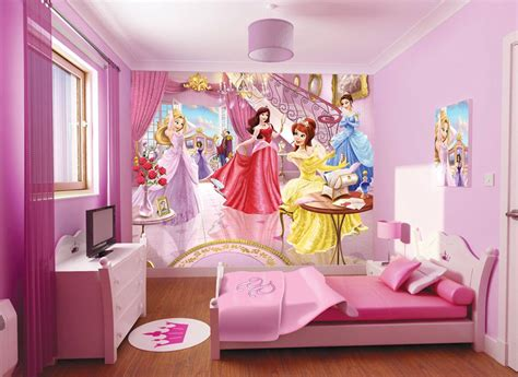 disney wallpaper room decor extraordinary beauty disney princess wallpaper room