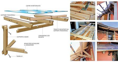 costruire tettoia in legno fai da te tettoia fai da te legno 7 foto descritte passo passo e