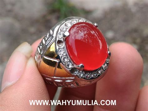 Batu Akik Darah Motif Sulaiman Hq batu cincin akik darah carnelian kode 426 wahyu mulia