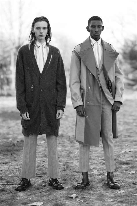 Alexander McQueen Fall 2017 Menswear Lookbook | Alexander