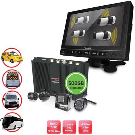 p kamera ahd kamera ve dvr hdcv ve hd tv kamera ve okul ve servis taşıtları i 231 in 500 gb kayıtlı dvr seti 4