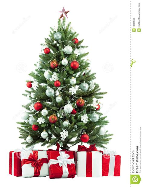 christmas tree  presents royalty  stock images