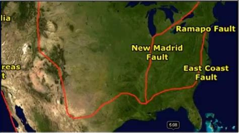 map us fault lines east coast of america fault line heaven awaits
