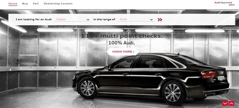 audi approved plus new web version of audi approved plus launched