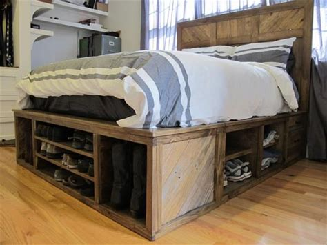 best 25 bed frame with storage ideas on bed
