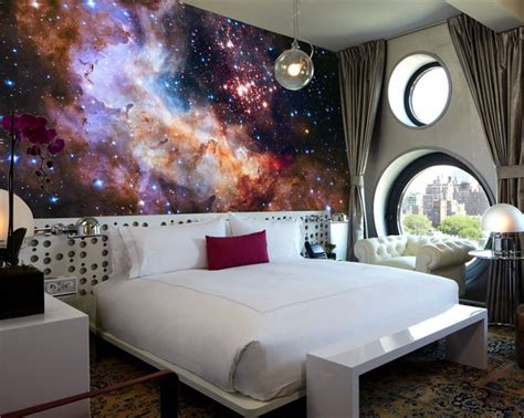 galaxy wallpaper for bedroom 3d gorgeous galaxy photo wallpaper custom silk wallpaper