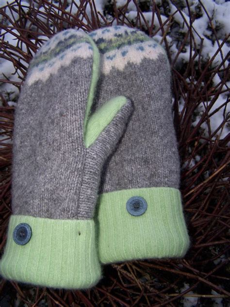 pattern sewing mittens pattern for mittens made from old sweaters of