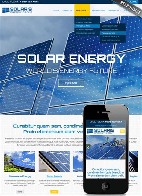 solar energy websites solar energy html website template best website templates