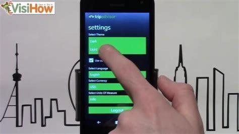 themes download lumia 535 change tripadvisor theme on microsoft lumia 535 visihow