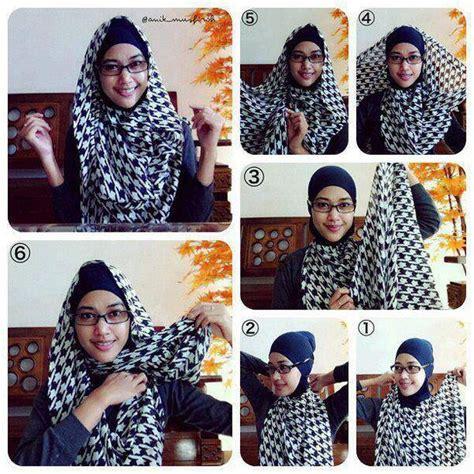 Tutorial Hijab Yg Cocok Untuk Berkacamata | ig cantik hijab on twitter quot tutorial pasmina cocok